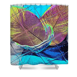 Shower Curtain featuring the digital art Jamaika 2 by Nico Bielow