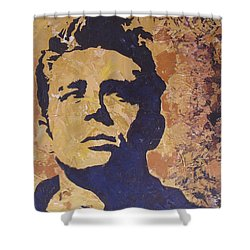 James Dean Shower Curtain by David Shannon