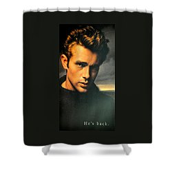 James Dean Shower Curtain by Jay Milo