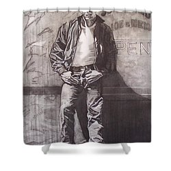James Dean Shower Curtain