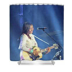 Jamie Grace Shower Curtain