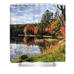 Jamie's Pond Shower Curtain