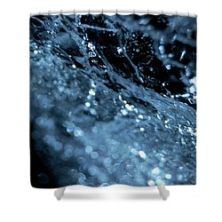 Shower Curtain featuring the photograph Jammer Abstract 006 by First Star Art
