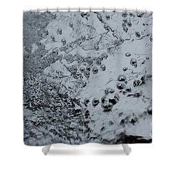 Shower Curtain featuring the photograph Jammer Abstract 008 by First Star Art
