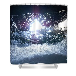 Jammer Cosmos 010 Shower Curtain by First Star Art