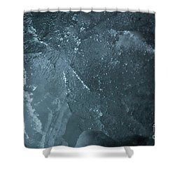 Shower Curtain featuring the photograph jammer Curacao Sanctum by First Star Art