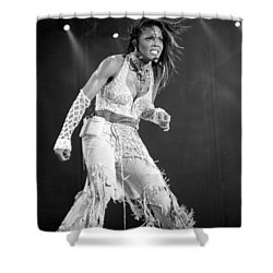 Janet 054 Shower Curtain by Timothy Bischoff