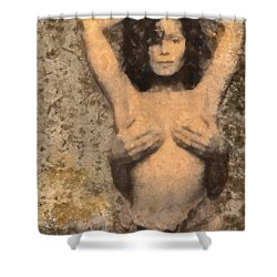 Janet Jackson - Tribute Shower Curtain