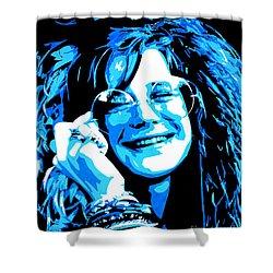 Janis Joplin. Shower Curtain