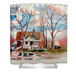 January Afternoon Shower Curtain by Kip DeVore