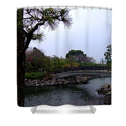 Shower Curtain featuring the photograph Japan by Andrea Anderegg