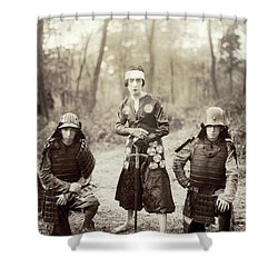 Shower Curtain featuring the photograph Japan Dancer, 1920s by Granger