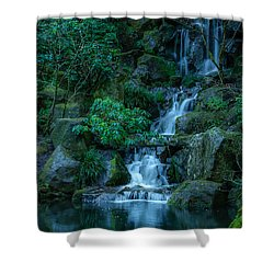 Japanese Garden Serenity 1 Shower Curtain