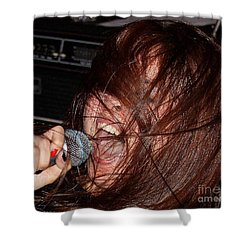 Shower Curtain featuring the photograph Japanese Intensity by Steven Macanka