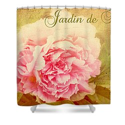 Shower Curtain featuring the photograph Jardin De Fleurs by Trina  Ansel
