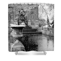 Jardin De Medicis Paris Shower Curtain