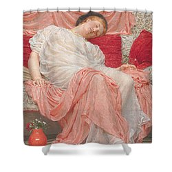 Jasmine Shower Curtain by Albert Joesph Moore