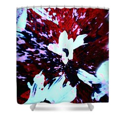 Shower Curtain featuring the painting Jasmine In My Mind  by Jacqueline McReynolds