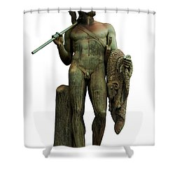 Jason And The Golden Fleece Shower Curtain