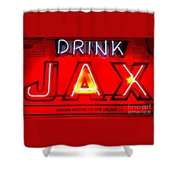 Jax Beer Of New Orleans Shower Curtain
