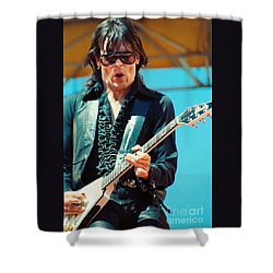 Jay Geils Of The J Geils Band- Day On The Green July 4th 1979 Shower Curtain