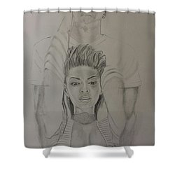 Jaybey Shower Curtain by DMo Herr
