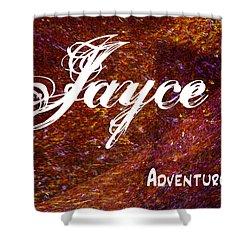 Jayce - Adventurous Shower Curtain by Christopher Gaston