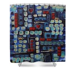 Jazzy Love Shower Curtain