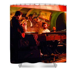 Jc Stylles At Mintons Playhouse Harlem Usa Shower Curtain