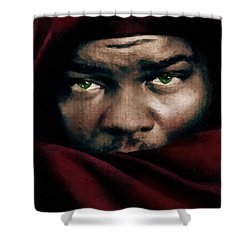 Jealous Othello Shower Curtain