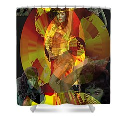 Jealousy Shower Curtain by Seth Weaver