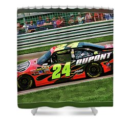 Jeff Gordon Shower Curtain