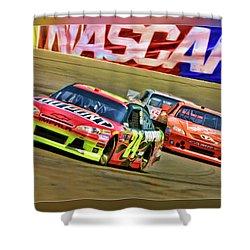 Jeff Gordon-nascar Race Shower Curtain