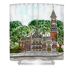 Jefferson Market Library Shower Curtain