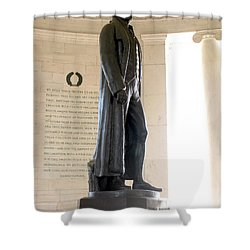 Jefferson Memorial In Washington Dc Shower Curtain
