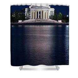 Jefferson Memorial Washington D C Shower Curtain by Steve Gadomski