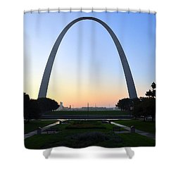 Jefferson National Expansion Memorial Shower Curtain