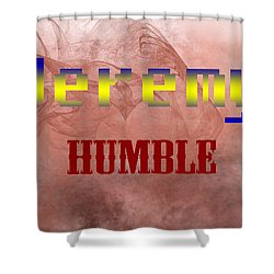 Jeremy - Humble Shower Curtain by Christopher Gaston