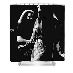 Jerry And Donna Godchaux 1978 A Shower Curtain