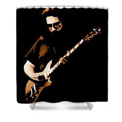 Jerry And His Guitar Shower Curtain