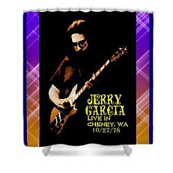 Shower Curtain featuring the photograph Jerry Cheney 1 by Ben Upham