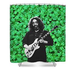 Shower Curtain featuring the photograph Jerry Clover 1 by Ben Upham