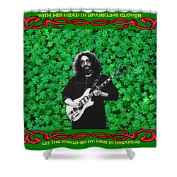 Shower Curtain featuring the photograph Jerry Clover 3 by Ben Upham