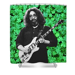 Shower Curtain featuring the photograph Jerry Clover 4 by Ben Upham