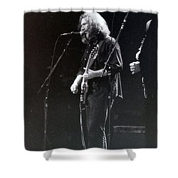 Shower Curtain featuring the photograph Grateful Dead -  In And Out Of The Garden  by Susan Carella