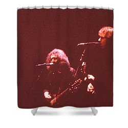 Nothing Left To Do But Smile Shower Curtain by Susan Carella