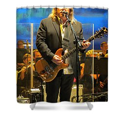 Warren Haynes  - Jerry Garcia Symphonic Celebration Shower Curtain
