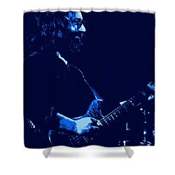 Jerry Happy At Winterland 2 Shower Curtain by Ben Upham