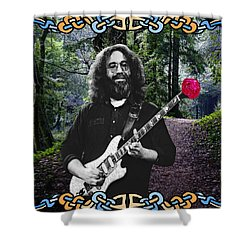 Jerry Road Rose 1 Shower Curtain by Ben Upham