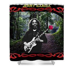 Shower Curtain featuring the photograph Jerry Road Rose 3 by Ben Upham